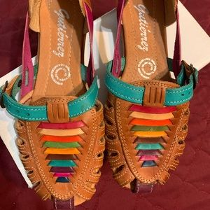 New leather Mexican sandals 7